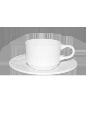 Ceasca cafea cu farfurie